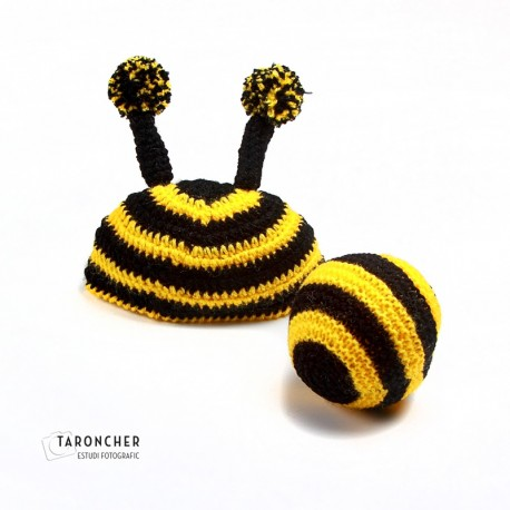 Gorro abeja + pelota