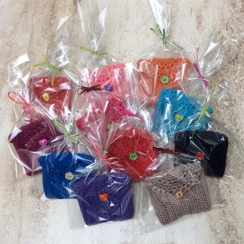Monederos o tarjeteros hechos a mano a ganchillo regalos - Detalles de ganchillo para regalar ...