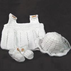 Conjunto bebé blanco